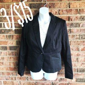 { H&M } Work Separates Classic Basic Black Blazer